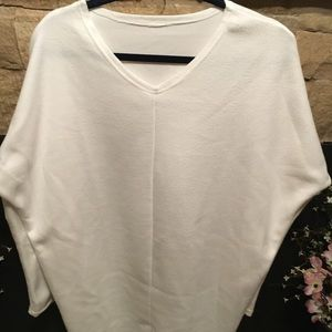 (Bundle for DISCOUNT) White Fleece Tunic